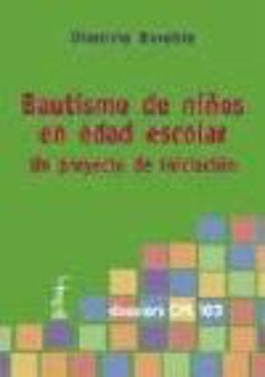 Picture of BAUTISMO DE NIÑOS EN EDAD ESCOLAR #103