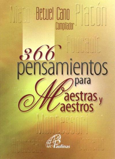 366 PENSAMIENTOS PARA MAESTRAS Y MAESTROS