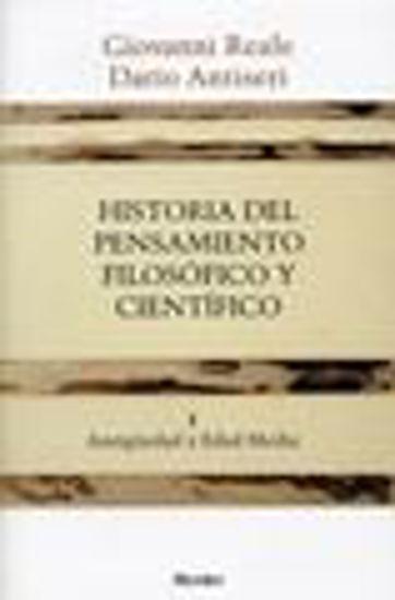 Foto de HISTORIA DEL PENSAMIENTO FILOSOFICO Y CIENTIFICO I