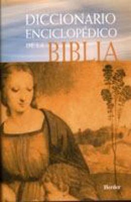 Foto de DICCIONARIO ENCICLOPEDICO DE LA BIBLIA