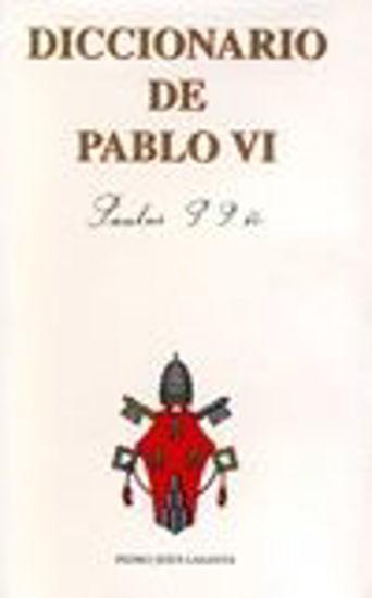 Foto de DICCIONARIO DE PABLO VI #9