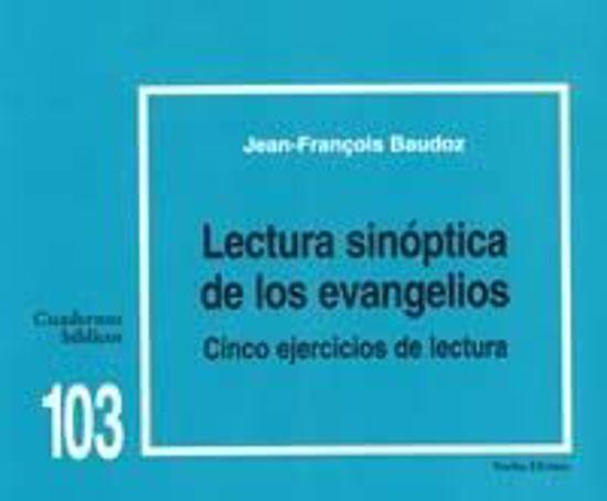 Foto de LECTURA SINOPTICA DE LOS EVANGELIOS #103