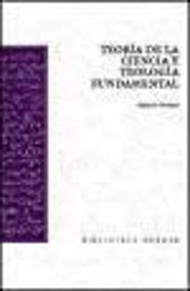 Picture of TEORIA DE LA CIENCIA Y TEOLOGIA FUNDAMENTAL
