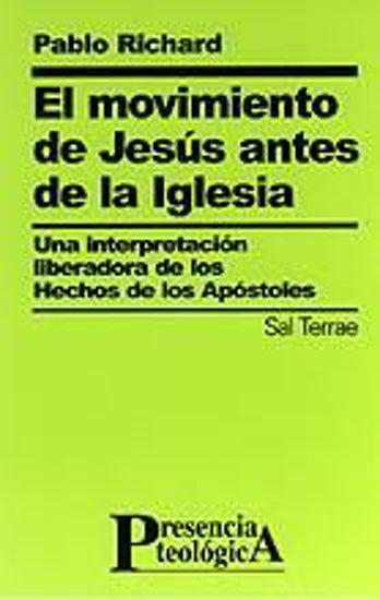 Foto de MOVIMIENTO DE JESUS ANTES DE LA IGLESIA (SAL TERRAE) #105