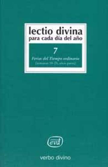 Foto de LECTIO DIVINA #07 TIEMPO ORDINARIO SEM.18-25 PARES