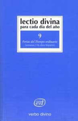 Picture of LECTIO DIVINA #09 TIEMPO ORDINARIO SEM.1-8 IMPARES