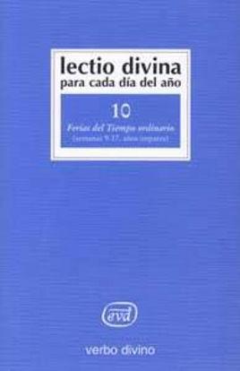 Picture of LECTIO DIVINA #10 TIEMPO ORDINARIO SEM.9-17 IMPARE