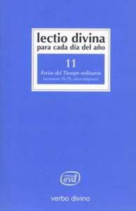 Picture of LECTIO DIVINA #11 TIEMPO ORDINARIO SEM.18-25 IMPAR