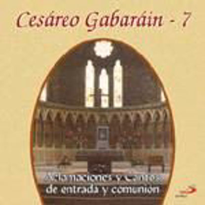 Foto de CD.CESAREO GABARAIN #07 ACLAMACIONES Y CANTOS DE ENTRADA Y COMUNION