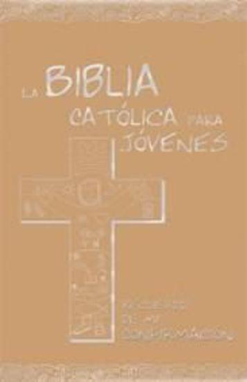 Foto de BIBLIA CATOLICA PARA JOVENES (CONFIRMACION DORADO)