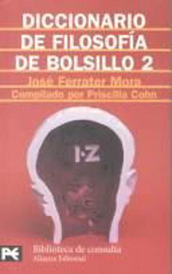 Foto de DICCIONARIO DE FILOSOFIA DE BOLSILLO II