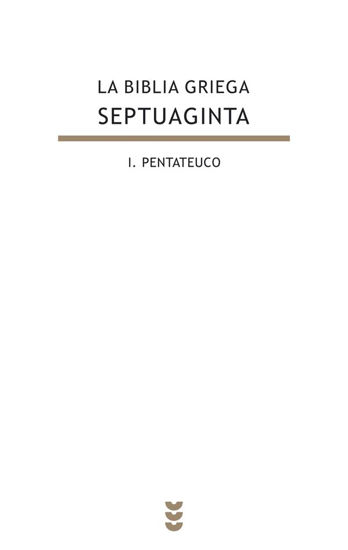 Picture of BIBLIA GRIEGA SEPTUAGINTA I #125