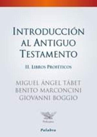 Foto de INTRODUCCION AL ANTIGUO TESTAMENTO II LIBROS PROFETICOS