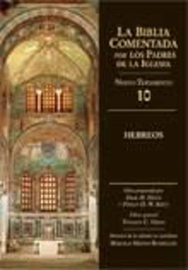 Foto de BIBLIA COMENTADA NT HEBREOS #10