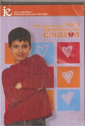 Foto de DVD.DERECHOS DEL CORAZON VOL.3