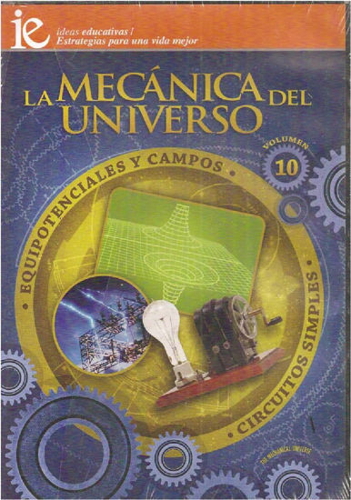Foto de DVD.MECANICA DEL UNIVERSO #10 EQUIPOTENCIALES Y CAMPOS