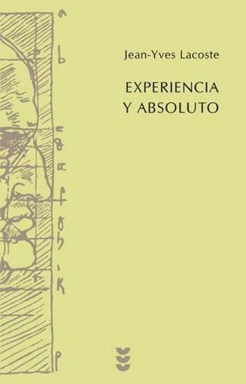 Foto de EXPERIENCIA Y ABSOLUTO #84