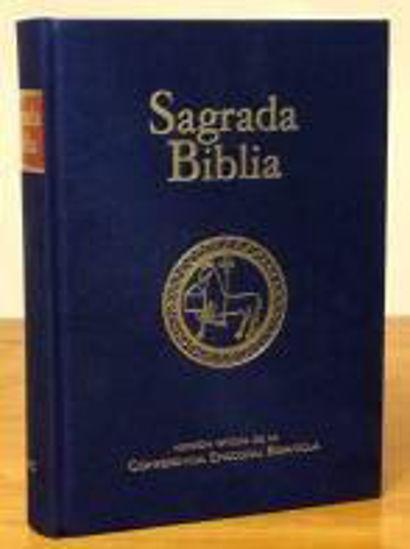 Foto de SAGRADA BIBLIA VERSION OFICIAL DE LA CONFERENCIA EPISCOPAL ESPAÑOLA
