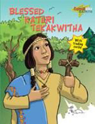 Foto de BLESSED KATERI TEKAKWITHA WITH TRADING CARDS