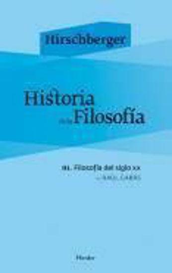 Foto de HISTORIA DE LA FILOSOFIA III FILOSOFIA DEL SIGLO XX
