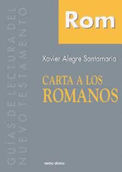 Foto de CARTA A LOS ROMANOS (VERBO DIVINO/SANTAMARIA) #6