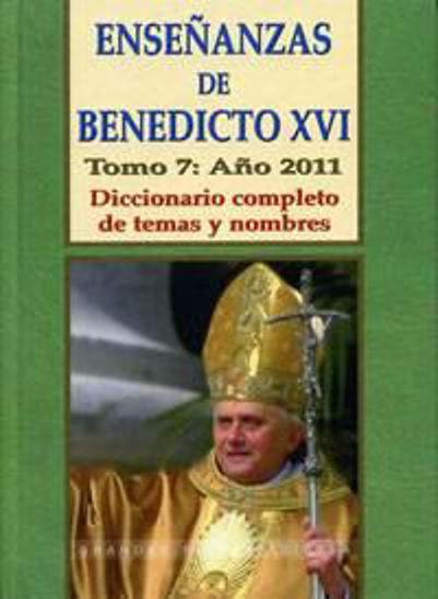 Foto de ENSEÑANZAS DE BENEDICTO XVI (7/2011) #162