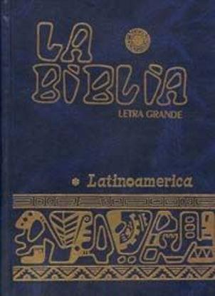 Picture of BIBLIA LATINOAMERICANA (LETRA GRANDE)