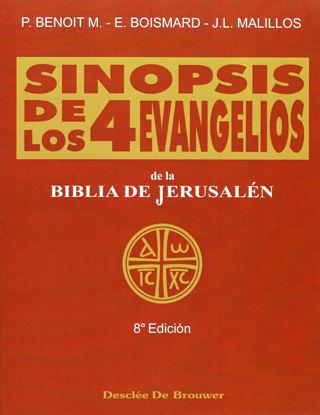 Foto de SINOPSIS DE LOS CUATRO EVANGELIOS (FLEXIBLE)