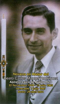 Foto de NOVENA EN HONOR DEL BEATO CARLOS MANUEL RODRIGUEZ