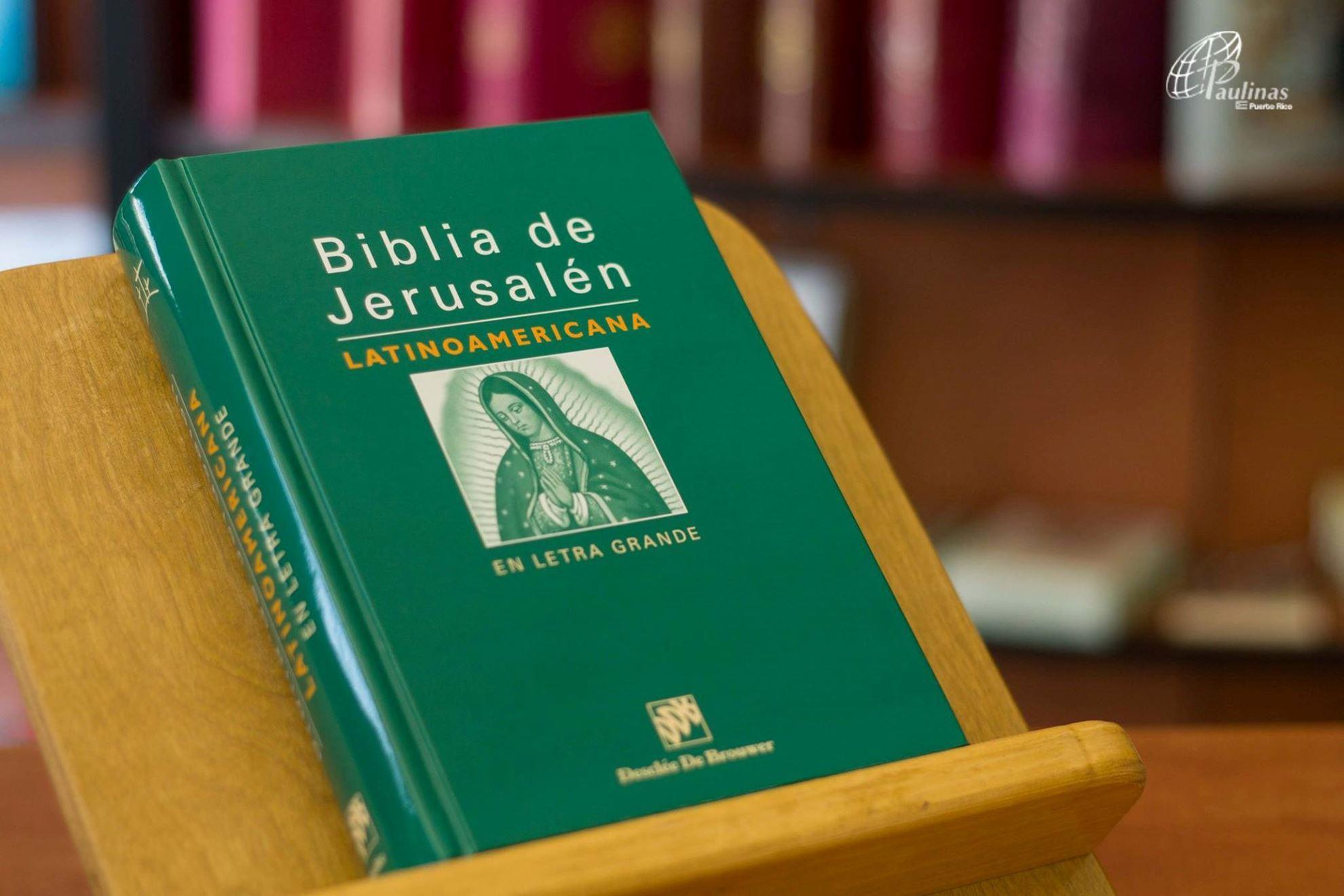 BIBLIA DE JERUSALEN LATINOAMERICANA (LETRA GRANDE)