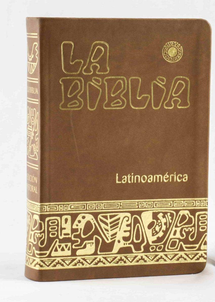 BIBLIA LATINOAMERICANA (MINISTRO PLASTICO) PEQUEÑA