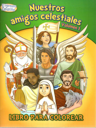 Foto de NUESTROS AMIGOS CELESTIALES LIBRO PARA COLOREAR