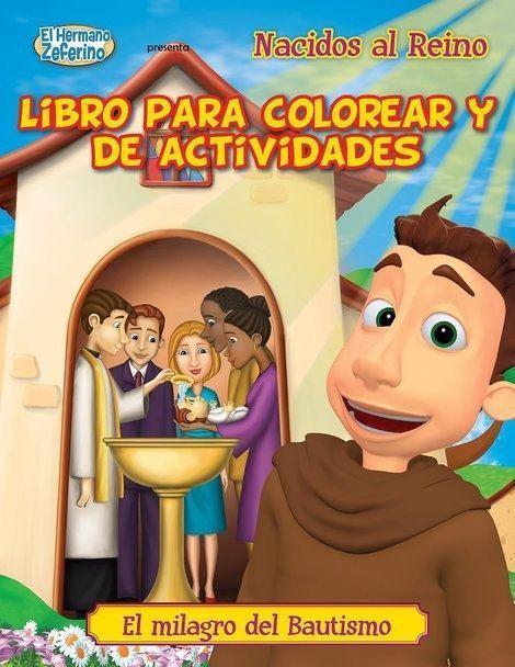 Foto de NACIDOS AL REINO - LIBRO PARA COLOREAR Y DE ACTIVIDADES