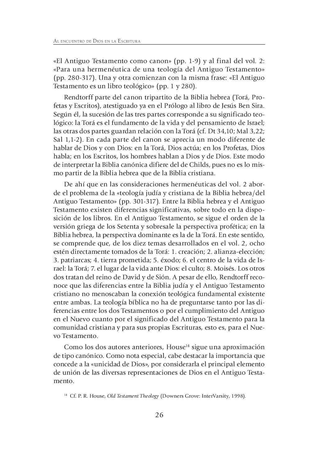 Foto de AL ENCUENTRO DE DIOS EN LAS ESCRITURAS #66 (VD)