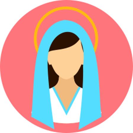 Cuadro para la categoría Virgen
