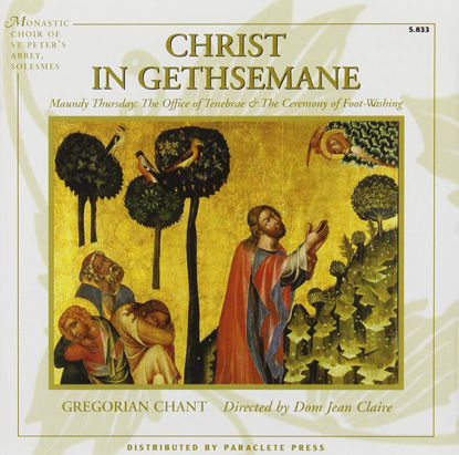 CD.CHRIST IN GETHSEMANE (GREGORIANO)