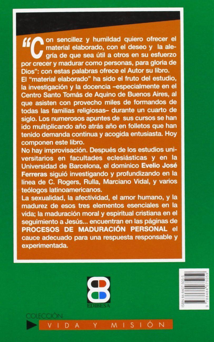 PROCESO DE MADURACION PERSONAL #117