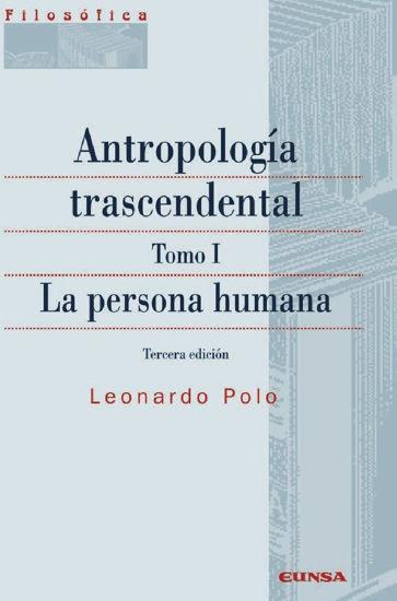 ANTROPOLOGIA TRASCENDENTAL TOMO I #141