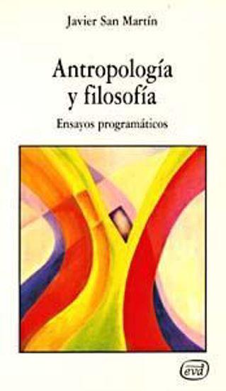 ANTROPOLOGIA Y FILOSOFIA