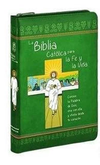 Foto de BIBLIA CATOLICA PARA LA FE Y LA VIDA (VD) CON FORRO