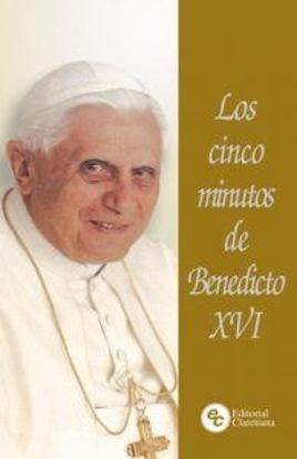 CINCO MINUTOS DE BENEDICTO XVI - libreria Paulinas