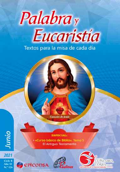 Picture of PALABRA Y EUCARISTIA JUNIO 2021 VERSION DIGITAL DESCARGABLE