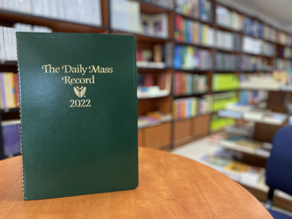 Picture of DAILY MASS RECORD 2022