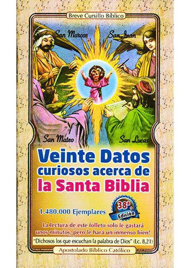 Picture of VEINTE DATOS CURIOSOS ACERCA LA BIBLIA
